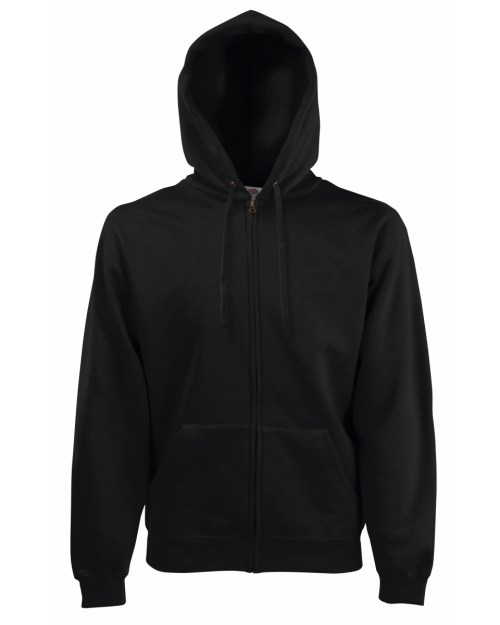 Fruit Of The Loom Men's Premium Hooded Sweat Jacket