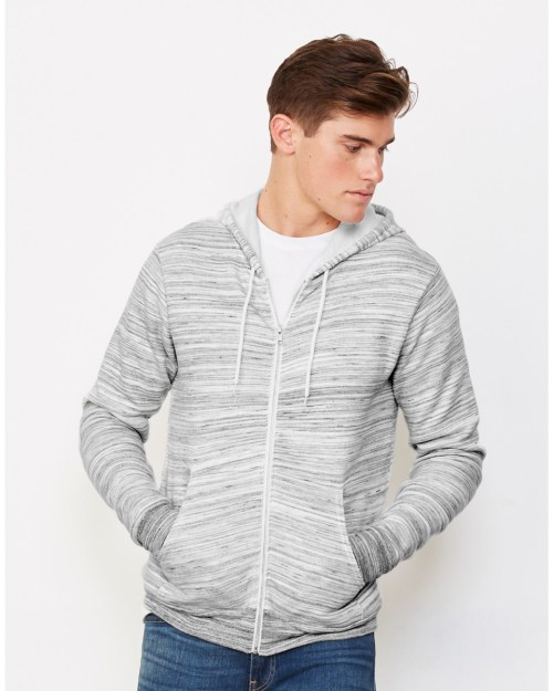Bella Canvas Unisex Polycotton Fleece Full-Zip Hoodie
