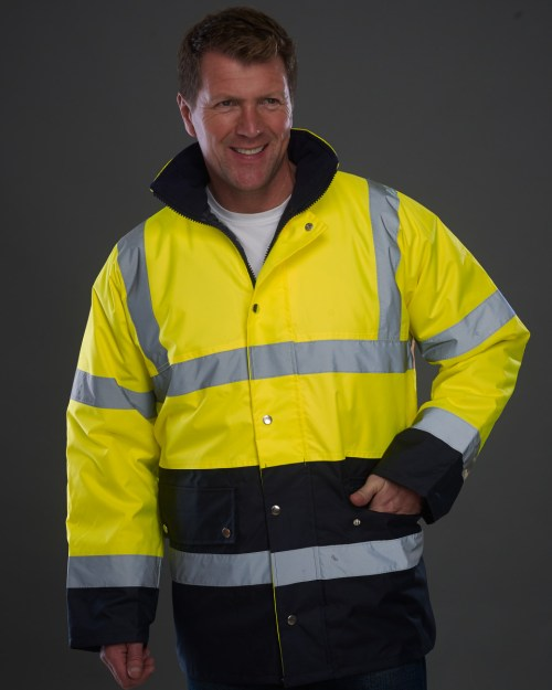 Yoko Hi-Vis Two Tone Motorway Jacket