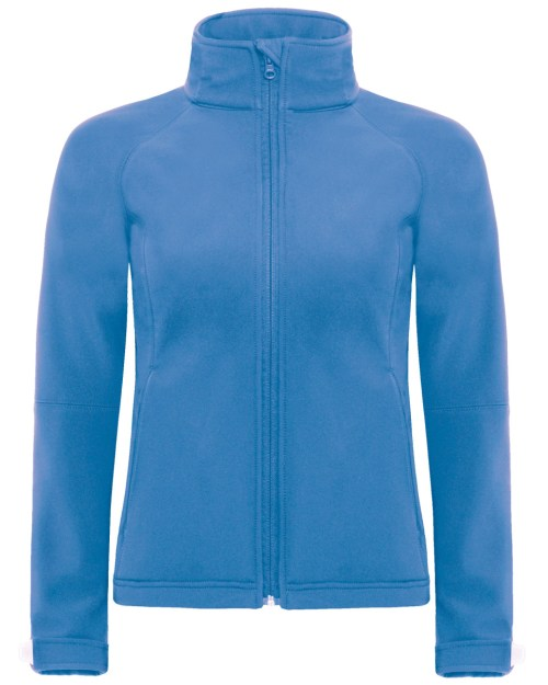 B and C Women's Hooded Softshell