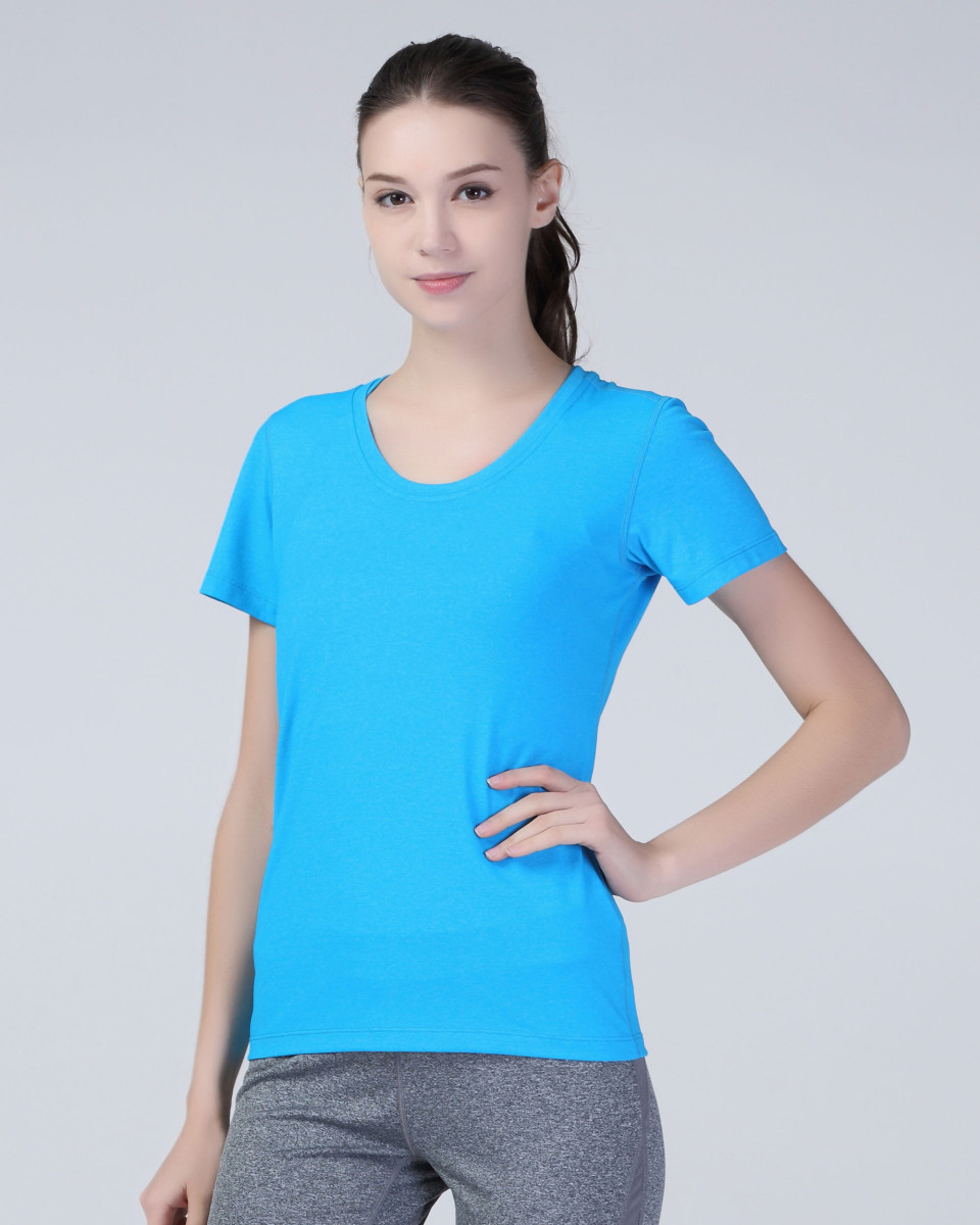 SPIRO FITNESS Women s Shiny Marl T-Shirt - The T Shirt Man - Cheap ... a95566ee92