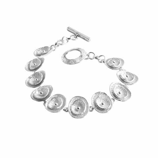 Poppy sterling silver bracelet - CL295