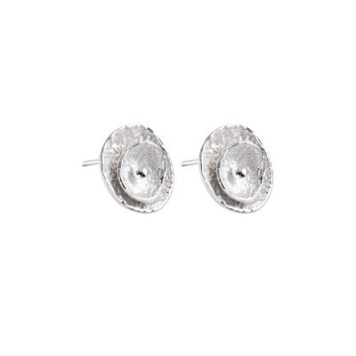 CL296 - Poppy sterling silver studs