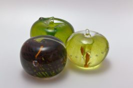 Apple & Burgundy Paperweights