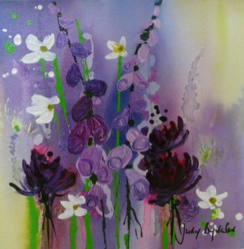 Judy Bywater - Acrylic on Canvas