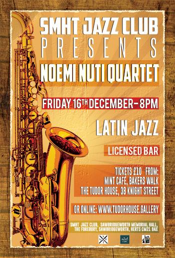SMHT Jazz Club - Noemi Nuti - Latin Jazz