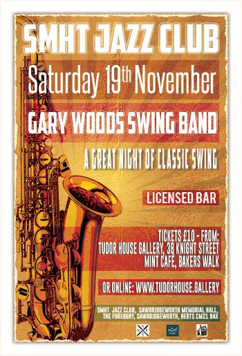 SMHT Jazz Club - Gary Woods - Swing Band