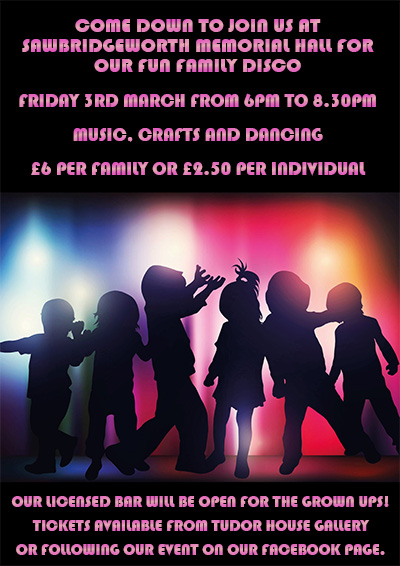 Family Disco Friday 3rd March