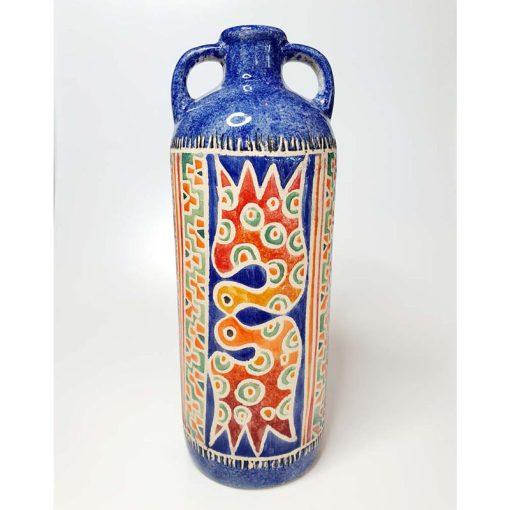 Large Vintage Ceramic Bottle