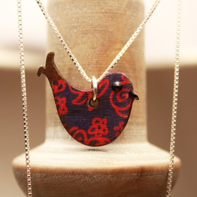 Handmade Bird Necklace