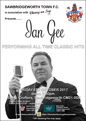 Ian Gee - Performing all time classic hits