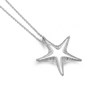 Handmade Starfish Necklace