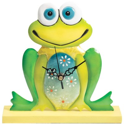 Funky frog clock