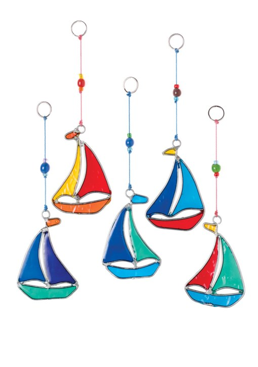 Sailing Boat Resin Sun catcher