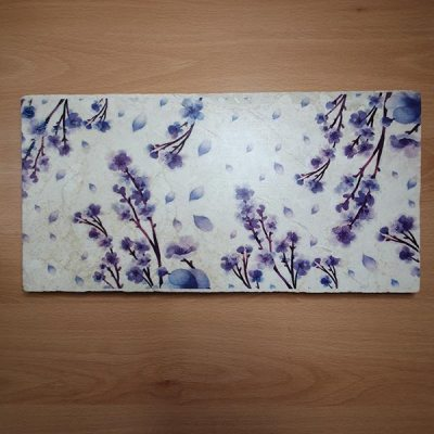 Large Sharing Board - Blue Blossom