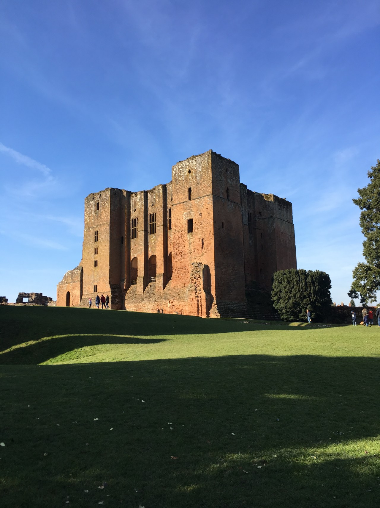 The Norman Keep at Kenilworth Castle