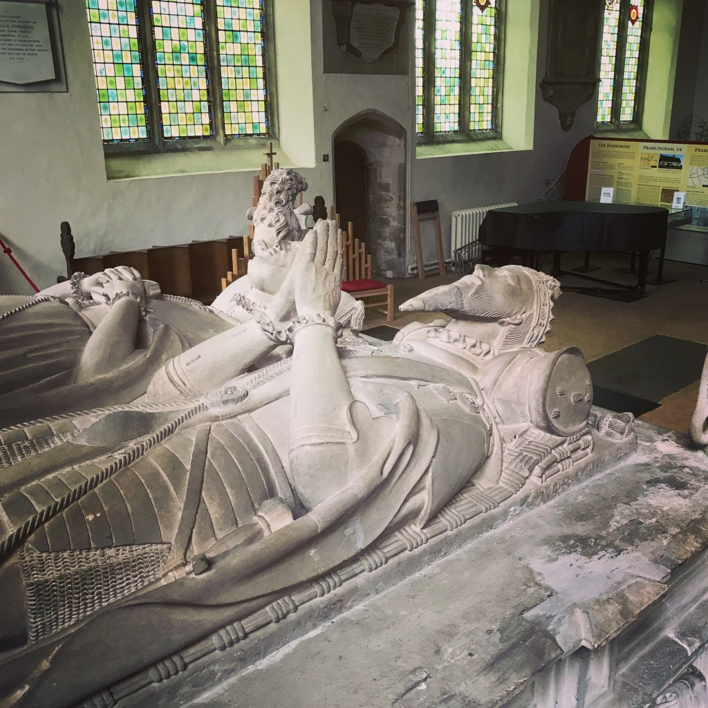 The tomb of the third Duke of Norfolk and Anne of York.