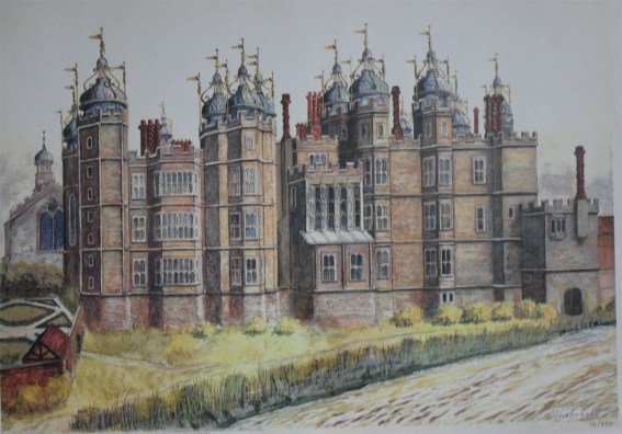 Richmond Palace; one of the Houses of Power