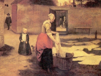 Henry VIII's laundress