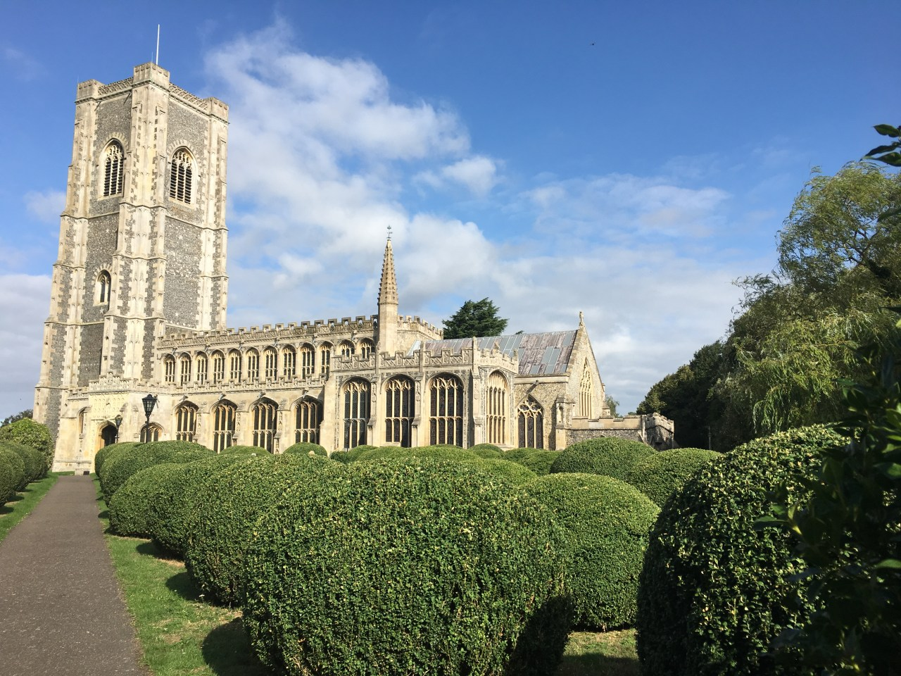 The wool church at Lavenham