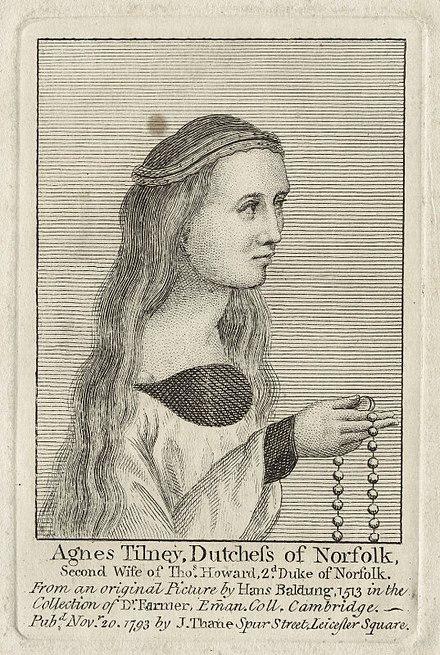 Agnes Tilney, Duchess of Norfolk