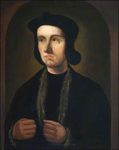 A portrait of a man, Cuthbert Tunstall