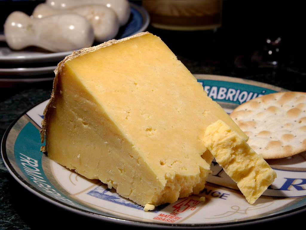Cheshire Cheese, ingredient in Tharida, a Spanish Tudor Recipe