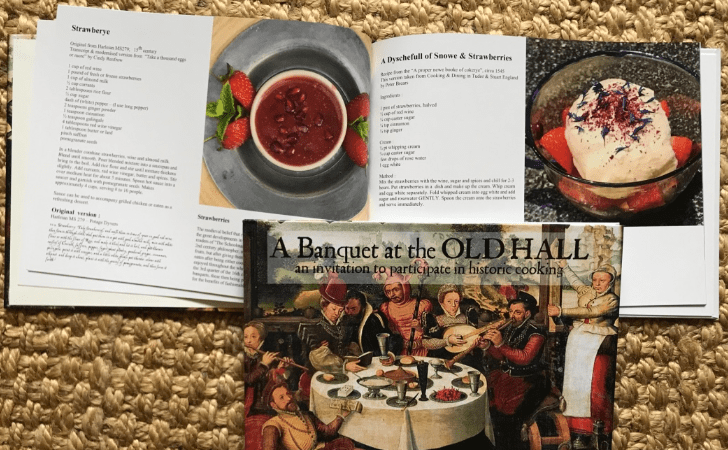 Recipes in A Banquet at the Old Hall by Brigitte Webster
