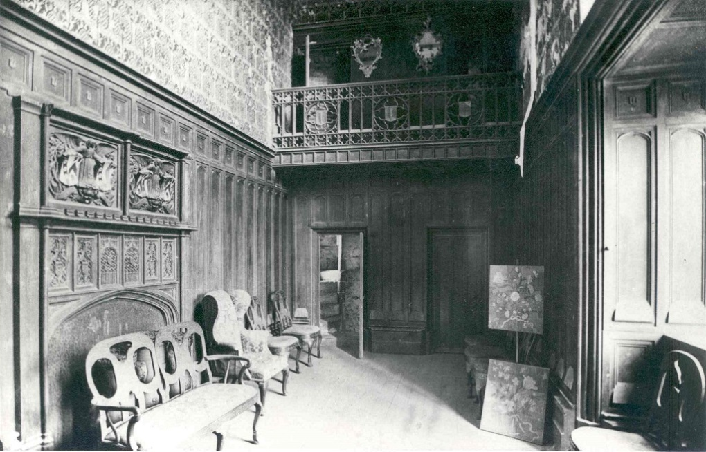 The Council Chamber in Hever Castle