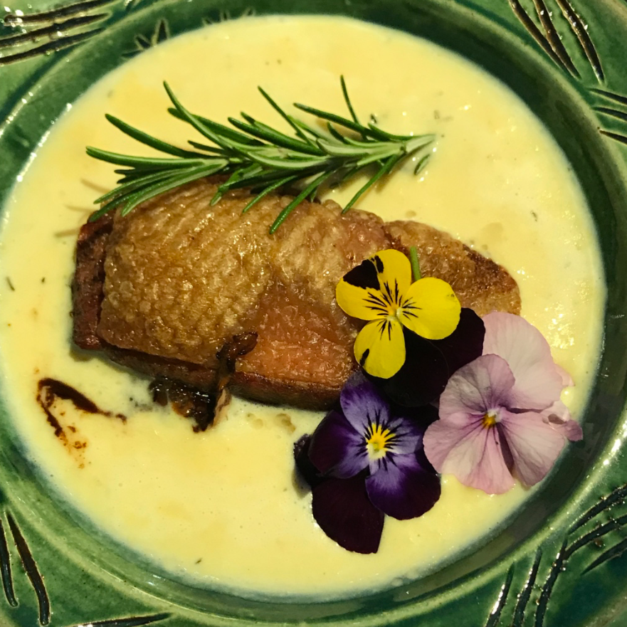 Anne Boleyn inspired recipe - Dodine Blanche (Duck)