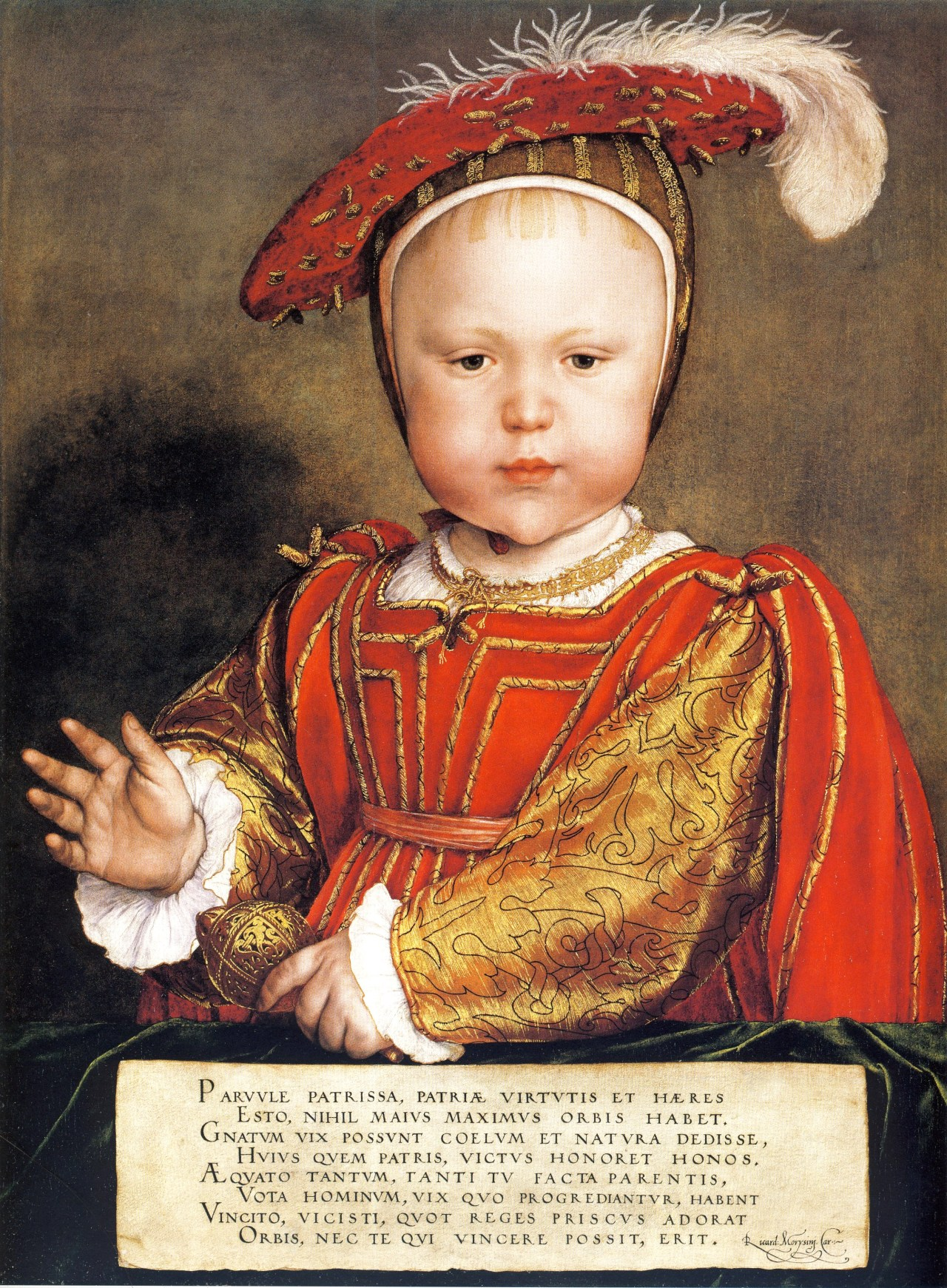 Prince Edward, son of Henry VIII