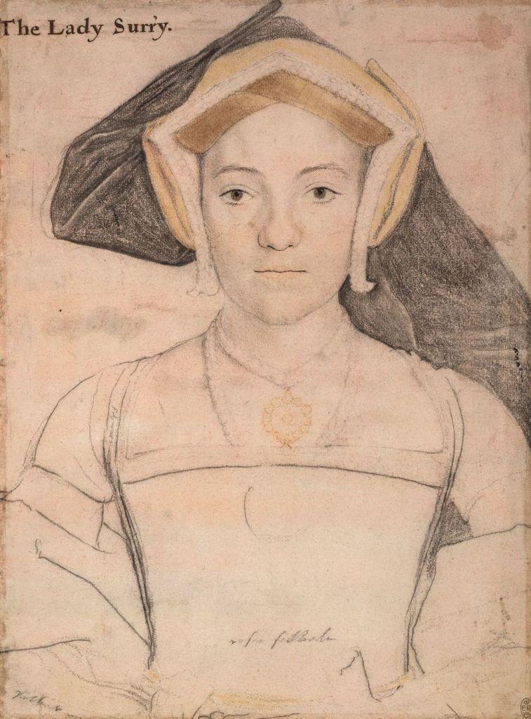 Frances de Vere, Lady Surrey
