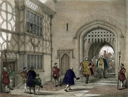 Henry VIII arrives at Hever
