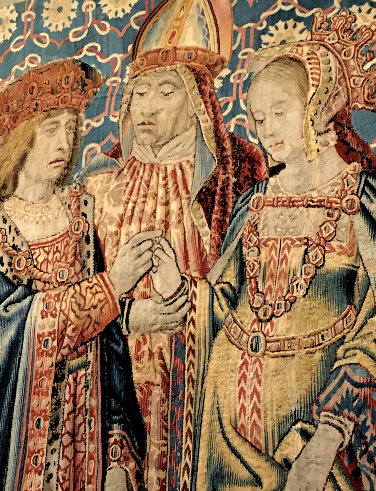 Louis XII and Mary Tudor marry
