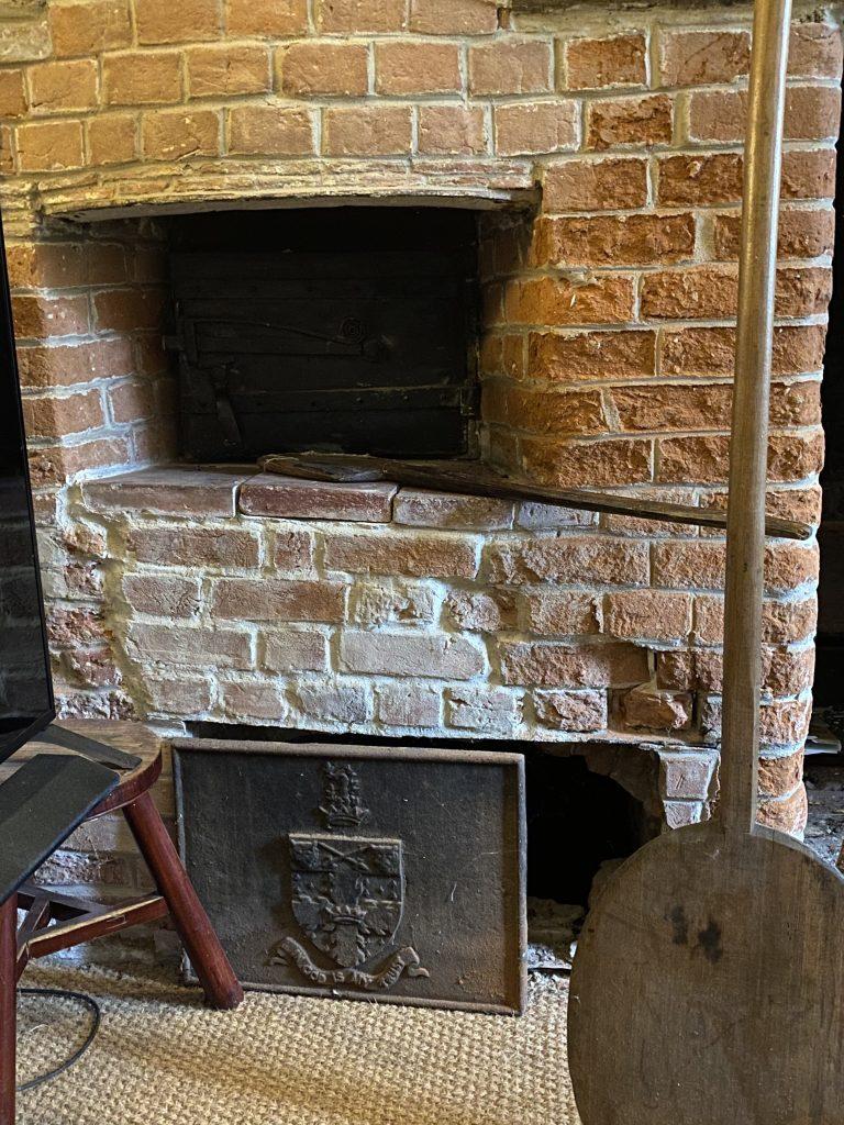 A bread oven