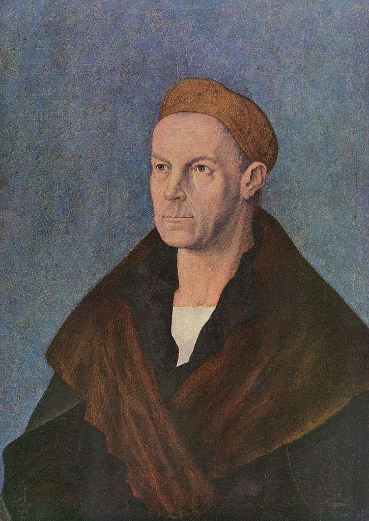 A portrait of a sixteenth century man - Jacob Fugger