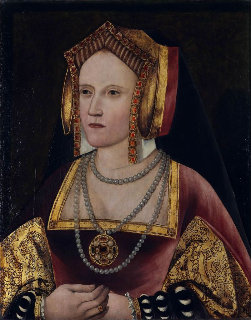 A portrait of a woman said to be Katherine of Aragon