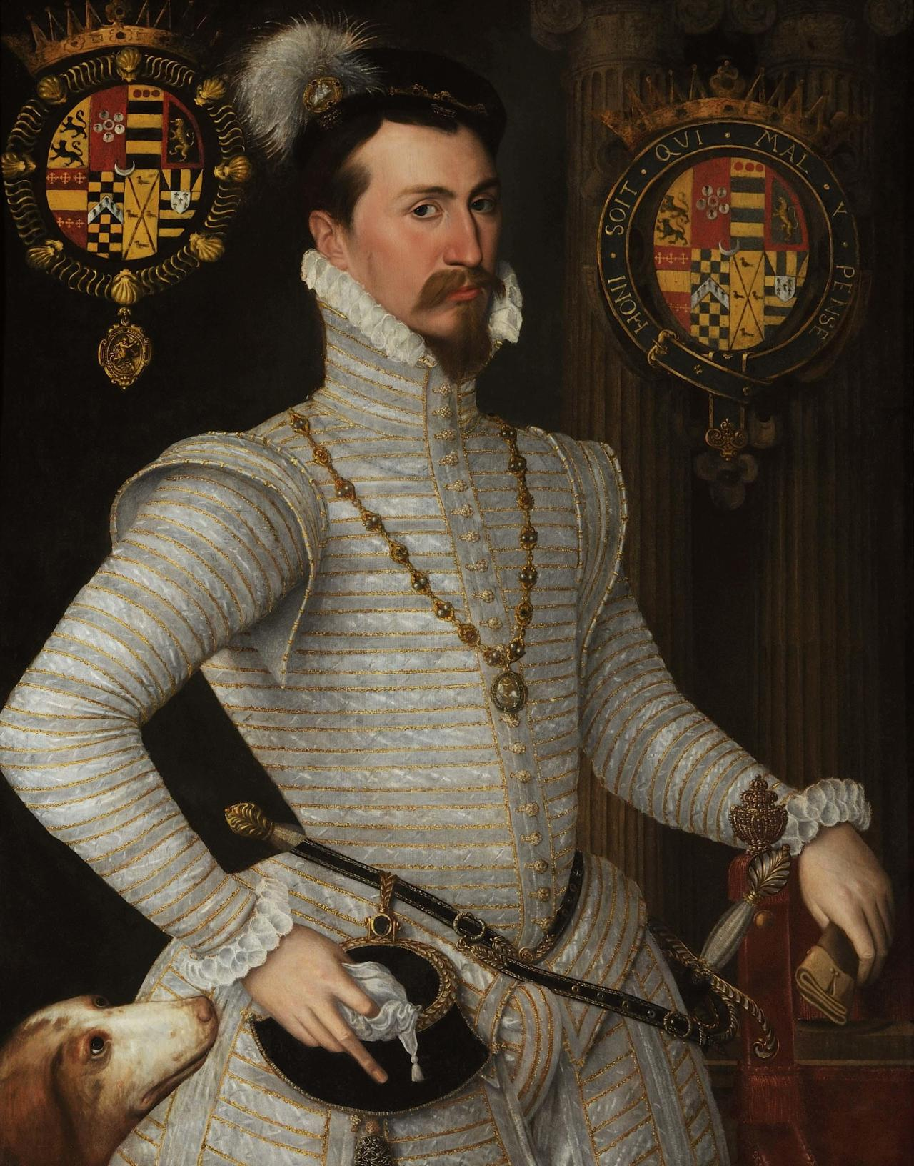 Robert Dudley, Earl of Leicester owner of Kenilworth Castle