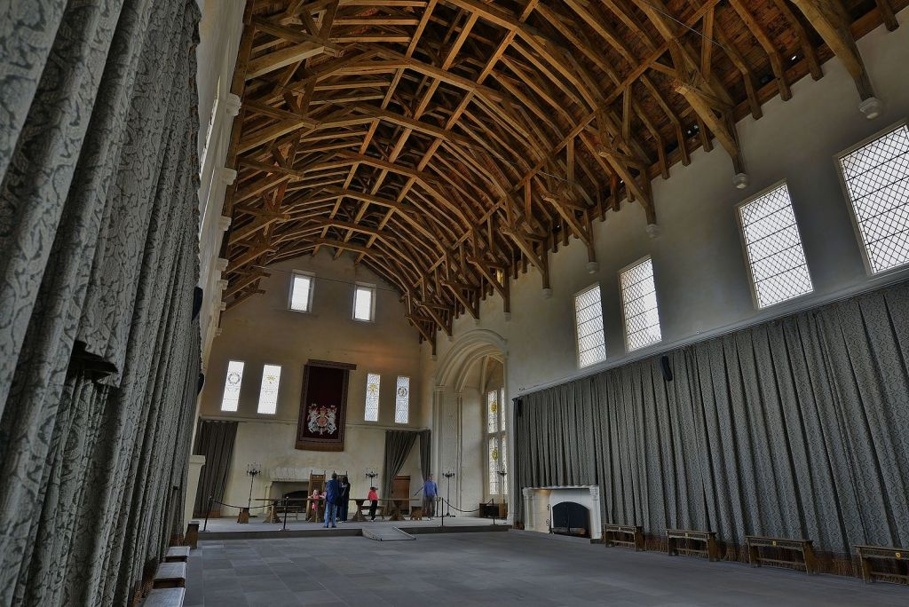 The Interior of the Great Hall at Stirling Castle