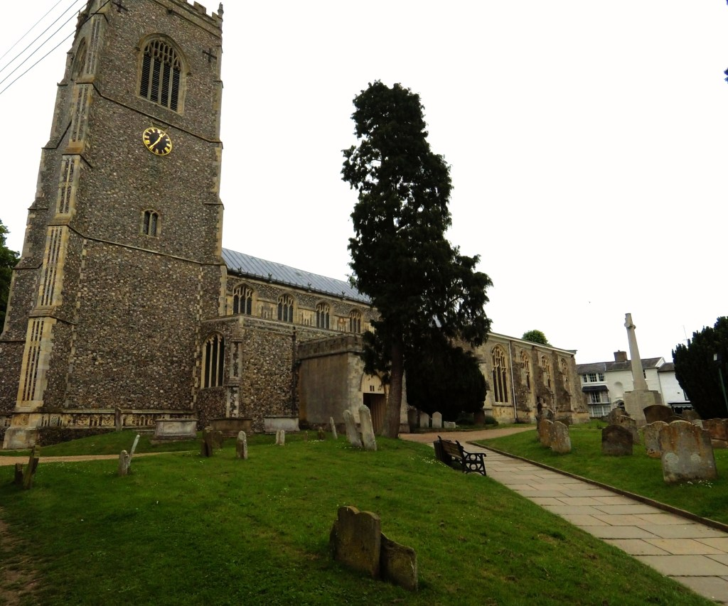 St Michael's Church at Framlingham contains the Howard tomb