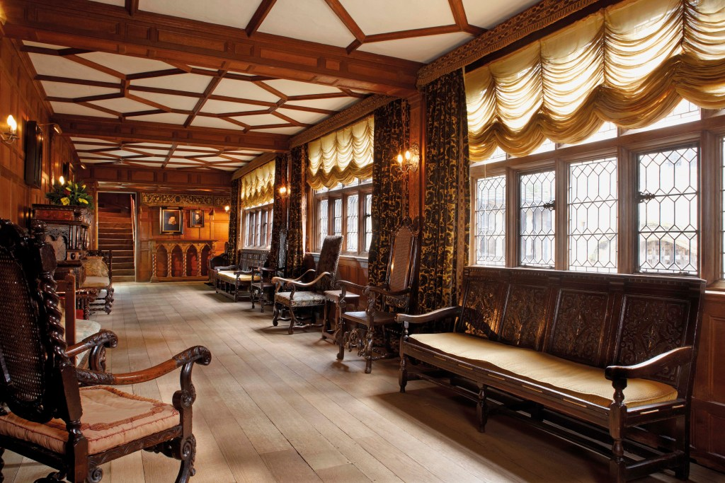 The Staircase Gallery at Hever Castle
