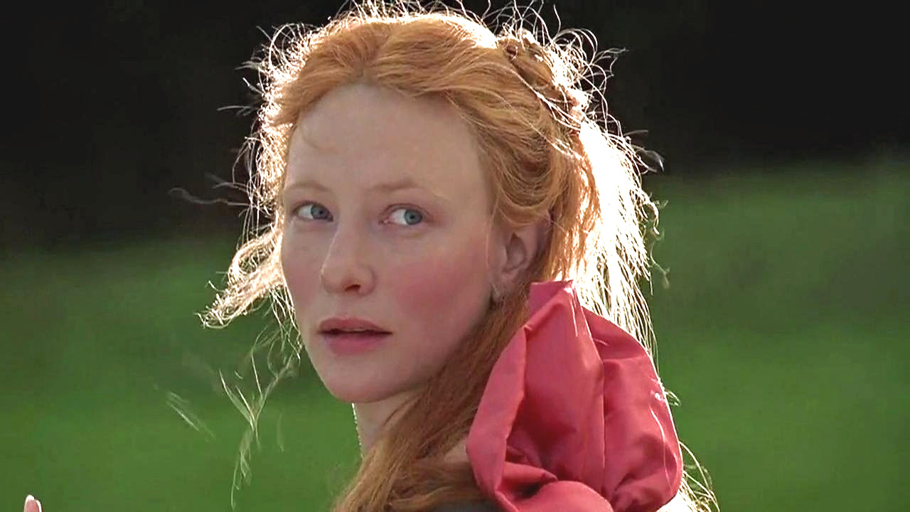 Cate Blanchett plays Elizabeth I