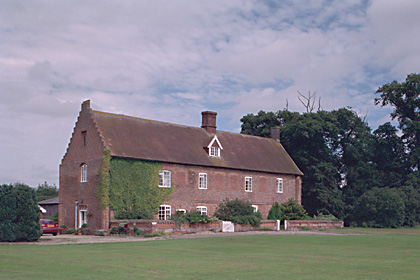 Picture of a house; the only surviving fragment of Kenninghall, the Howard family seat in Norfolk