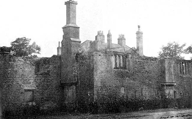 Kirby Hardwick Hall in Nottinghamshire