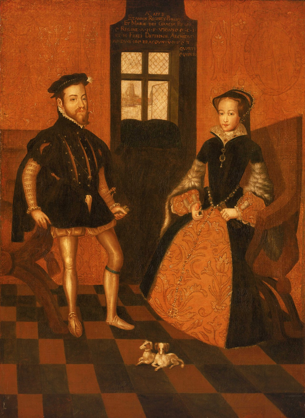 Mary I and Philip of Spain, visitors to Suffolk Place