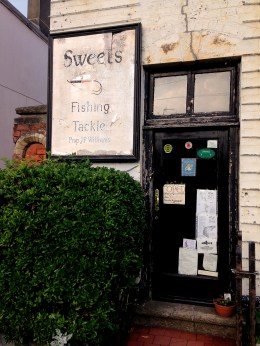 Sweets Tackle shop Usk