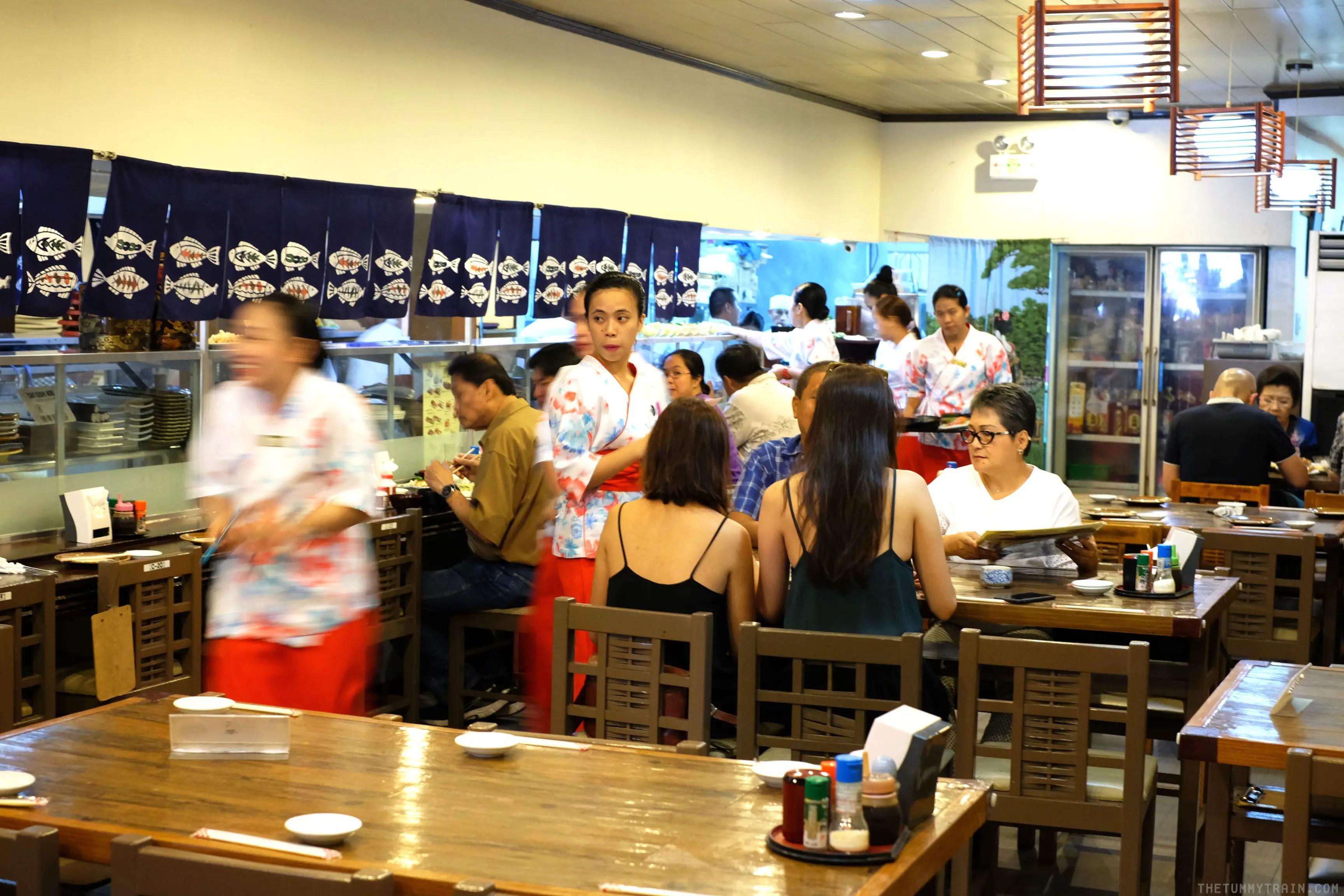 Sashimi overload at Izakaya Kikufuji