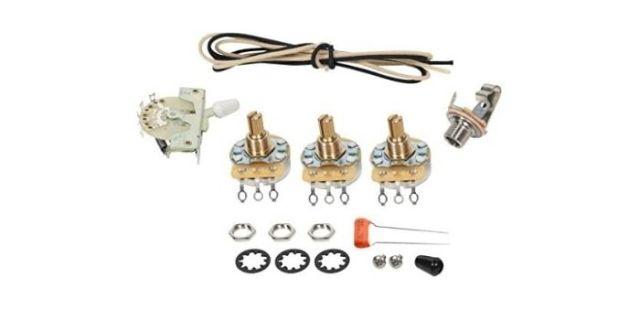 Fender Stratocaster 5-way Wiring Kit