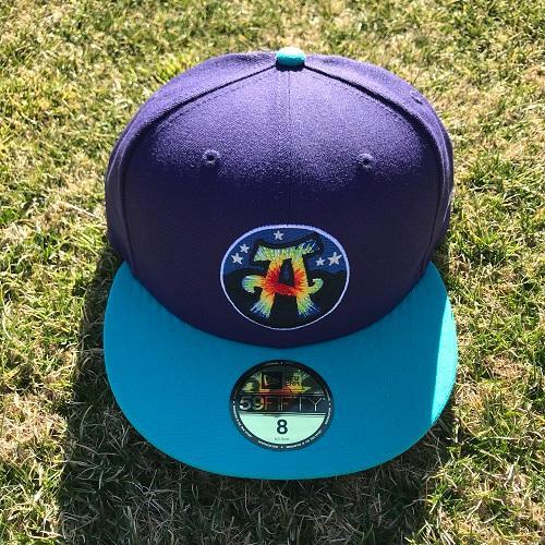 Asheville Tourists - 2018 Hippies 59Fifty