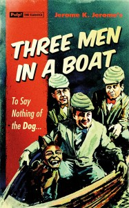 This cover of this Pulp! The Classics edition of Three Men in a Boat was designed by Turnaround sales department's own David Mann.